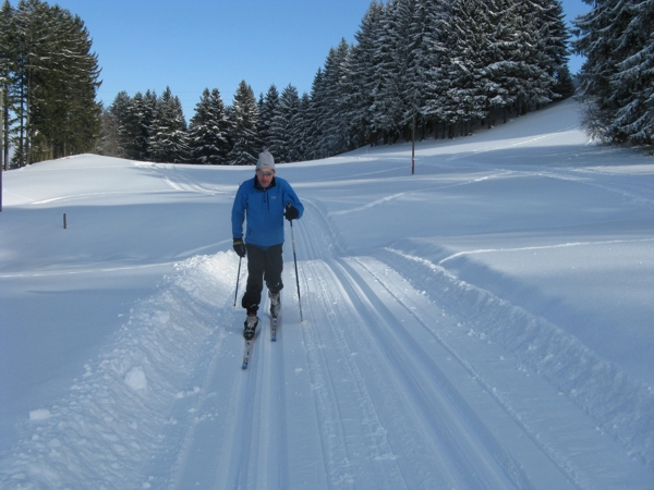 176-Peter beim Langlaufen