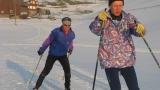 Ivan und Jörg beim Training